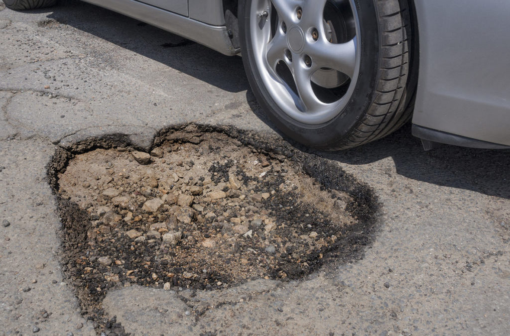 Potholes In Paradise: 3 Big Dangers Of Potholes